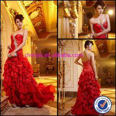 CY90037 romantic #sweetheart #beaded #off-shoulder #ruffle #prom #dress