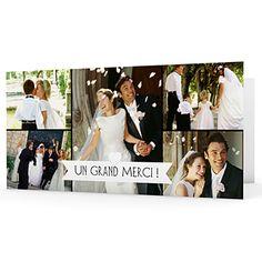 remerciements mariage personnaliss graphic chic 1 - Carte De Remerciement Mariage Pas Cher