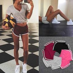 $5.85 - Awesome Women Summer Casual Sexy Shorts  Slim Fitness Beach - Buy it Now!