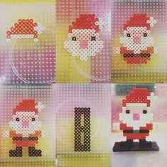 Santa Claus - Christmas perler beads by yan_alisa