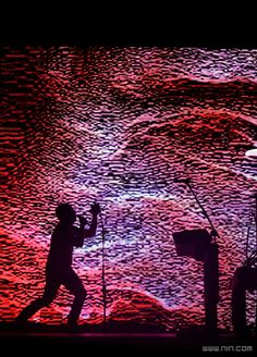 Nine Inch Nails. I've seen them live eight times. Awesome band live.