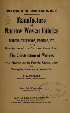 Manufacture of narro