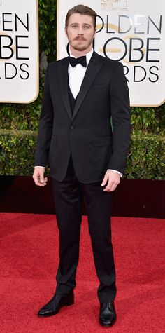 2016 Golden Globes Red Carpet Arrivals - Garrett Hedlund  - from InStyle.com