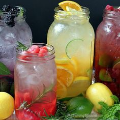 "Naturally Flavored Water -- An easy formula for making an endless variety of fruit and herb infused waters. Say goodbye to soda, juice, and bottled water with these refreshing, healthy ""spa water"" flavors!"