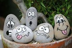 Awesome Hobbies to consider adopting - - Pebbles an. 10 Awesome Hobbies to consider adopting - - Pebbles and Stones - lovely DIY - 10 Awesome Hobbies to consider adopting - - Pebbles and Stones - lovely DIY - Rock Painting Patterns, Rock Painting Ideas Easy, Rock Painting Designs, Paint Designs, Pebble Painting, Pebble Art, Stone Painting, Garden Painting, Stone Crafts