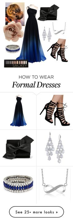 """""""Formal dressing"""" by asrbeachbum on Polyvore featuring Victoria Beckham, Accessorize, Carolee, Kenneth Jay Lane, Forever 21, women's clothing, women, female, woman and misses"""