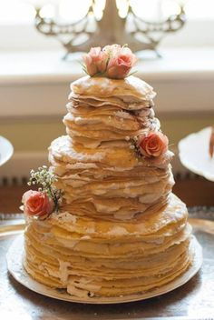 crepe wedding cake - Google Search