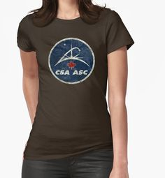 """Vintage Emblem Canadian Space Agency"" T-Shirts & Hoodies by Lidra 