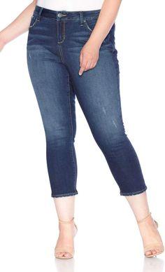 f004e04e8c121 Saks Fifth Avenue Women s Mid-Rise Ankle Medium Wash Legging Jeans ...