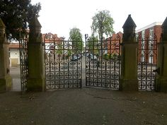 cmetery gates   Long Eaton Cemetery Gates:: OS grid SK4833 :: Geograph Britain and ...
