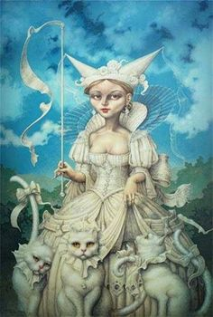 """""""Lady Kitryn"""" ~ Daniel Merriam ~ Watercolorist Extraordinaire ~ Miks' Pics """"Daniel Merriam l"""" board @ http://www.pinterest.com/msmgish/daniel-merriam-l/"""