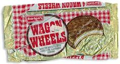 Wagon Wheels when they were huge