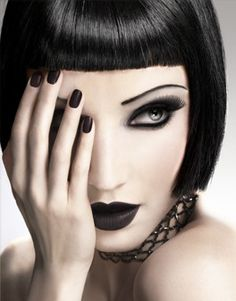 Gothic Makeup.
