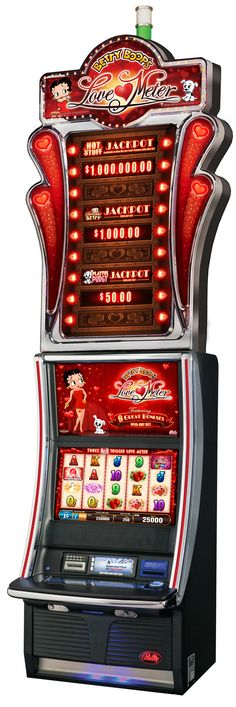 Betty Boop's Love Meter Slot Machine in Bally's Casino in Las Vegas | House of Beccaria#