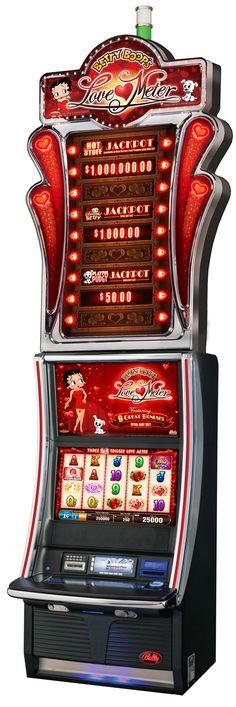 Betty Boop's Love Meter Slot Machine in Bally's Casino in Las Vegas | House of Beccaria#