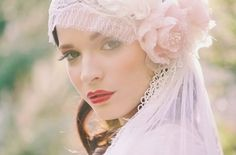 A gypsy veil is absolutely dripping with romance. DG