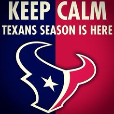 Oh yea, so ready! Houston Texans Logo, Bulls On Parade, Tv Station, Win Or Lose, Strong, Texas, Fans, Business, Store