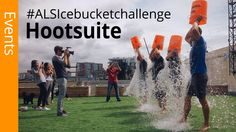 Mike Blonde, Jaime Stein, Sandy Pell and Stefan Person from team Hootsuite decided to take the ALS Ice Bucket Challenge and call out a few lucky individuals to do the same. #ALSIceBucketChallenge #IceBucketChallenge