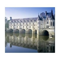 Chateau Chenonceau ❤ liked on Polyvore featuring backgrounds and pictures