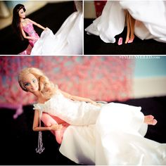 Barbie and Ken Get married #barbie #photography
