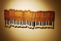 old piano keys - Google Search
