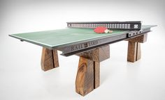 Railyard Studios Ping Pong Table