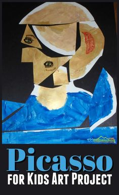 Super cute and clever Picasso for kids activities and art project. Plus lots of other clever art projects and free printables for learning about famous artists for kids Picasso for Kids Art Lessons For Kids, Art Activities For Kids, Art For Kids, Art Project For Kids, Free Activities, Educational Activities, Kunst Picasso, Art Picasso, Picasso Kids