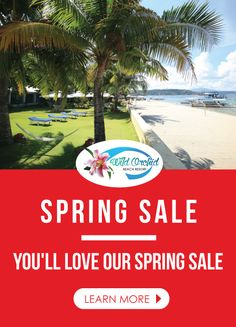 You'll love our Spring Sale It's worth planning ahead and booking your next getaway now!  Stay for 3 Nights, Pay 2 Nights* Valid Mondays to Thursdays only, must be consecutive nights only. * Valid in Deluxe Rooms Only  Valid From April 1 - May 31** **Subject To Availability No Other Promotion Applies Cash Payment ONLY NO CREDIT CARDS  For Details, Contact Us At: 047-223-1029 0917-512-3029 www.wildorchidsubic.com groupbookings.wildorchidsubic@gmail.com bookings@wildorchidsubic.com