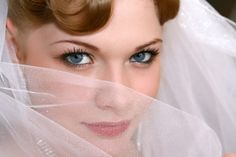 fall bridal make-up