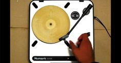 A man successfully created a playable record out of a flour tortilla.