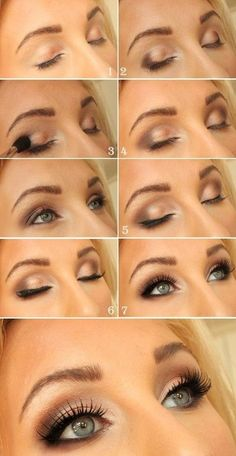 This is a great tutorial on an everyday neutral eyeshadow look, I find myself doing a lot of brown/neutral smokey eyes daily. It is very classy and looks great with any color outfit! Not to mention it is fast and easy to do!
