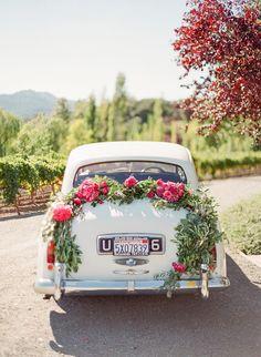 A Pink + Purple Wedding Set in Napa Valley - Amazing Share Wedding Bells, Fall Wedding, Dream Wedding, Wedding Set, Wedding Cars, Elegant Wedding, Wedding Dress, Napa Valley, Pink Purple Wedding