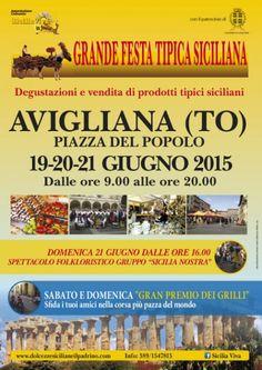 Grande festa tipica siciliana - Avigliana