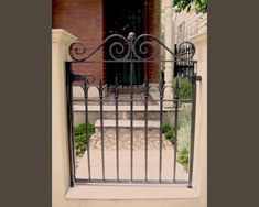 Traditional Victorian Front Gate - Reproductions - Wrought Artworks - Iron work Australia