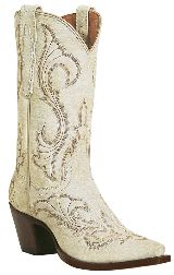 white cowboy boots...for every day or even for your BIG day :)