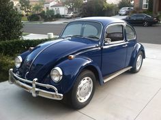 Just what we like to see here at 1967beetle.com; L633 VW Blue in all of its glory. This one will surely go fast. I've seen this car personally, and know the amount of detail that has gone into the restoration.