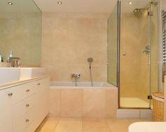photo of beige bathroom