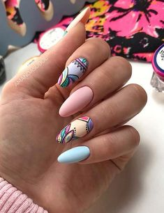 43 Nail Ideas to Inspire Your Next Mani Looking for some nail ideas? These stylish nail designs will inspire your next manicure and have your fingers looking fashionable in no time. Elegant Nails, Stylish Nails, Trendy Nails, Matte Purple Nails, Pastel Nails, Colorful Nails, Nail Manicure, Gel Nails, Acrylic Nails