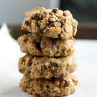 Chocolate oat #cookies. Use a combination of gluten free flours such as…