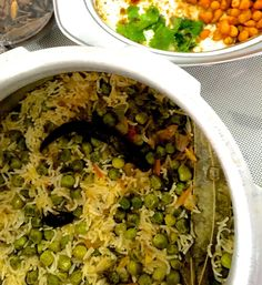 A fragrant rice dish from Eastern Uttar Pradesh in India, made with Basmati rice and fresh green peas. Having married into a family from Eastern UP, I've been making my own version of Tehari for many years. However when I wanted an authentic recipe for this traditional dish, I turned to my sister
