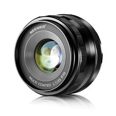Neewer Large Aperture Manual Prime Fixed Lens APS-C for Sony E-Mount Digital Mirrorless Cameras - PhotoMania - Camera, Photo & Video Experts Nikon D3100, Sony A6000, Iphone 6, Gopro, Rebel, Camera Photos, Fixed Lens, System Camera, Digital Cameras