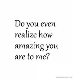 You are #amazing.