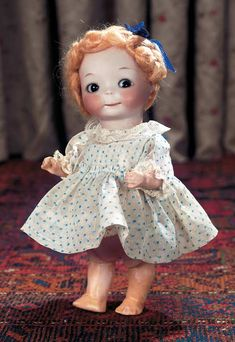 German Bisque Googly, 241, by Marseille - Theriault's Antique Doll Auctions