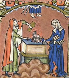 anglo-norman_woman_wearing_wimple_headdress.jpg (400×455)