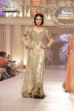 #,Tabusum mughal dress #pakistani designer on pentene #bridal coutour week…