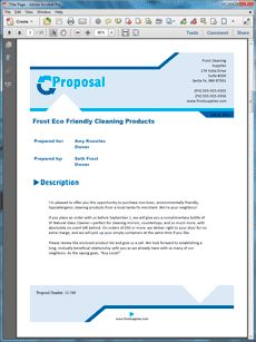 Basic Product Sales Sample Proposal - The Basic Product Sales Sample Proposal is an example of a proposal using Proposal Pack to pitch products to another company. Create your own custom proposal using the full version of this completed sample as a guide with any Proposal Pack. Hundreds of visual designs to pick from or brand with your own logo and colors. Available only from ProposalKit.com (come over, see this sample and Like our Facebook page to get a 20% discount)