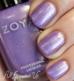 Zoya:  Hudson ... from Spring 2014 Awaken collection...a cool orchid metallic with what appears to be pink, silver and gold shimmers.