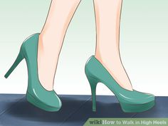 free shipping 41d74 9a0c9 Image titled Walk in High Heels Step 1 How To Wear Heels, Sexy High Heels