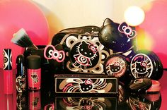 Hello kitty x mac products!