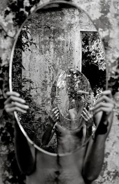 broken mirror on ground - Google Search